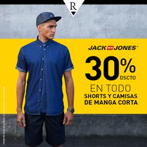 30% de descuento en shorts y camisas