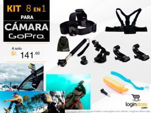 Kit GoPro a sólo S/. 141.60