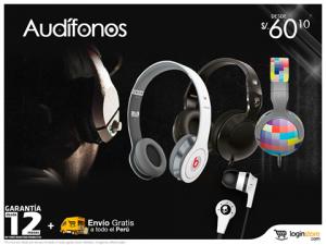 Audífonos desde S/. 60.10