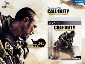 Call of Duty Advanced Warfare a sólo S/. 245.00