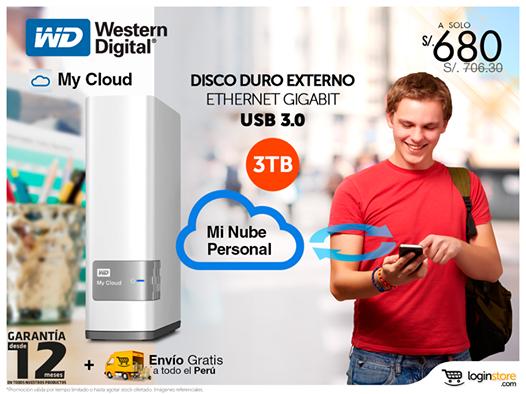 Disco duro externo a sólo S/. 680.00