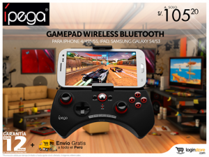Gamepad para tu celular a sólo S/. 105.20