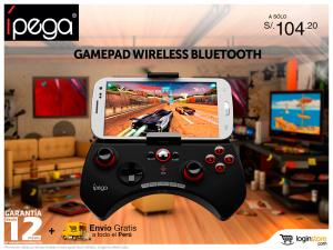Gamepad para smartphone a sólo S/. 104.20