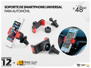 Soporte para smartphone a sólo S/. 48.60