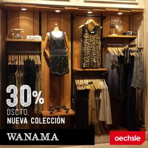 30% de descuento en la colección Wanama