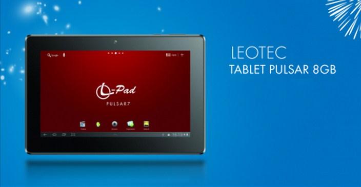 Tablet Leotec a sólo S/. 189.00