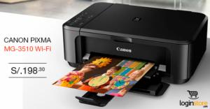 Impresora Canon a sólo S/. 198.30