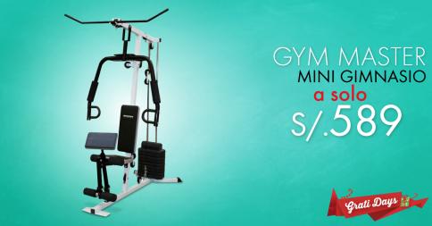 Gym Master a sólo S/. 589.00