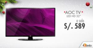 AOC TV a sólo S/. 589.00