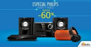 Hasta un 60% de descuento en productos Philips
