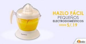 Electrodomésticos desde S/. 19.00