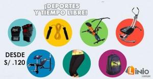 Artículos deportivos desde S/. 120.00