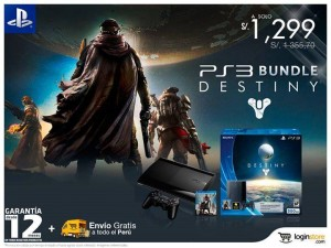 Bundle Play Station 3 & Destiny!  A S/.1299 + Garantía 12 Meses