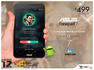 Tablet Asus FonePad Dual Sim 3G