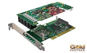 TARJETA SANGOMA UP TO 4 PORTS PCI a S/. 628