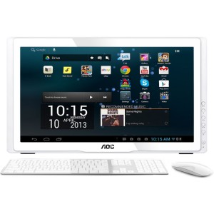 AOC – Computadora de Escritorio All in One 21.5″ Full HD 4GB 1GB Android A2258P – Blanco a solo S/.499.00