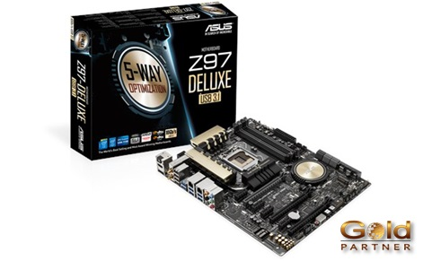 ASUS Z97 DELUXE U31 DR3 a S/. 1,128