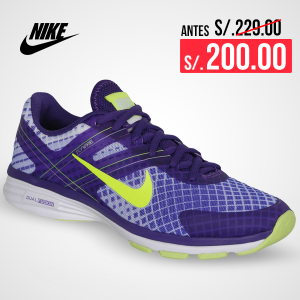 Oferta Zapatilla de Mujer Nike dual fsn w tr 2 pr Morado