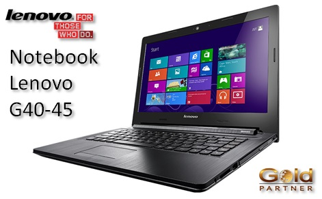 Notebook Lenovo G40-45