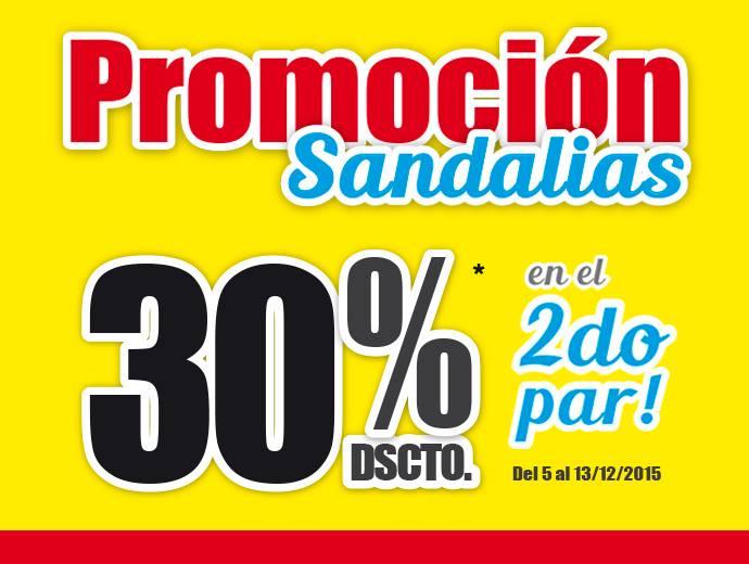 Súper descuento, 30% en Sandalias en tiendas Bata