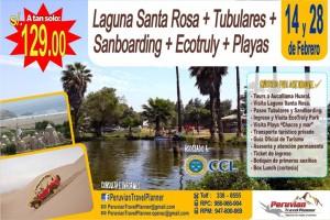 Paga S/.129.00 por Full Day Aventura Huaral + Tubulares + Eco Truly + Playa.