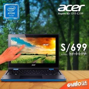 Laptop Acer Aspire R3 – 131T CELERON N3050 a S/.699