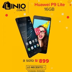 Huawei P9 Lite 16GB 2GB RAM 13MP 4G LTE – Negro