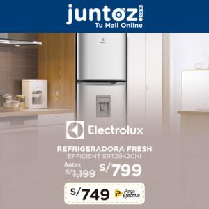 Refrigeradora Fresh Efficient ERT29K2CNI