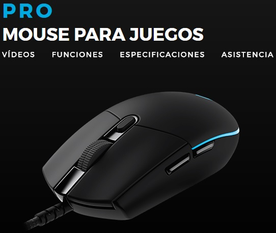 Mouse Logitech Pro Gaming