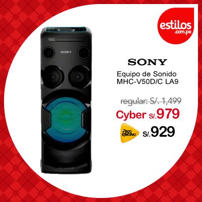 Sony Equipo de Sonido MHC-V50D/C LA9