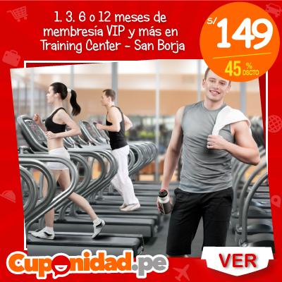 Desde S/ 149 por 1, 3, 6 o 12 meses de membresía VIP con Bodybuilding + Definition + Functional Training en VIP Training Center – San Borja