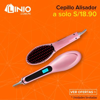Cepillo Alisador a solo S/ 18.90
