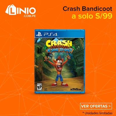 Crash Bandicoot N·Sane Trilogy PlayStation 4