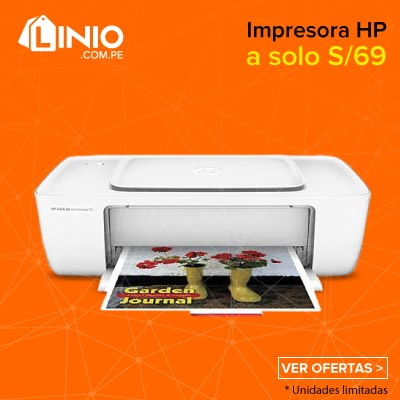 Impresora HP DeskJet Ink Advantage 1115-Blanco