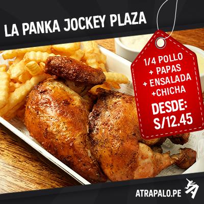 Restaurante La Panka – Jockey Plaza – Entrada + Fondo + Bebida (Precio por persona) desde S/. 12.45