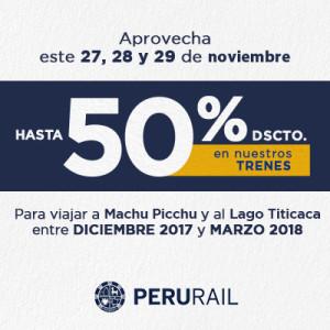¡Aprovecha los CyberDays! Compra online este 27, 28 y 29 de noviembre y viaja a Machu Picchu y al Lago Titicaca entre diciembre 2017 y marzo 2018