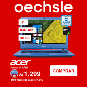 Laptop 14″ ES1-433G-350J Azul