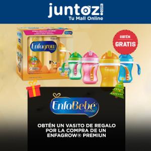 Promoción Enfagrow Premium, GRATIS un vasito entrenador