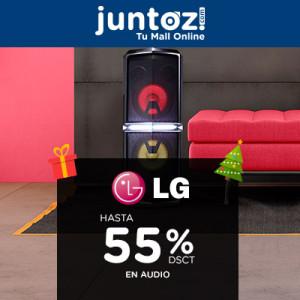 Hasta 55% de Descuento en Audio de LG