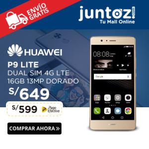 HUAWEI P9 LITE DUAL SIM 16GB 13MP 4G LTE – DORADO