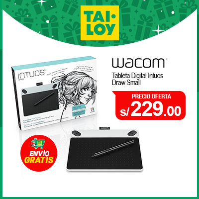 WACOM TABLETA DIGITAL INTUOS DRAW SMALL