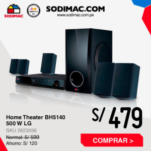 Home Theater BH5140 500 W LG